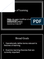 Tema 4 Theories of Learning