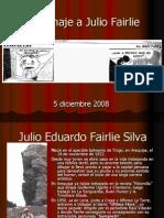 Homenaje a Julio Fairlie