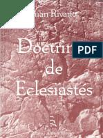 Doctrinas Del Eclesiastés