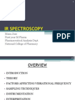 IR Spectroscopy