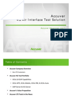 Accuver 4G Test Solution - 201100224
