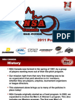 NSA League Presentation 2011