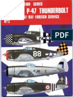 Osprey - Aircam Aviation Series 02 - Republic P-47 Thunderbolt in USAAF-RAF-Foreign Service