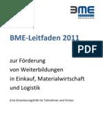 BME-Leitfaden-Weiterbildungsfoerderungen-2011