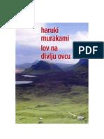 Haruki Murakami-Lov Na Divlju Ovcu