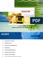 Basic Guidelines Planning and Design Highway Using Autocad Land Desktop Companion 2009