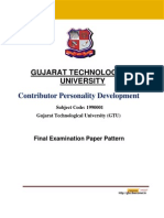 Final Exam Pattern - CPDP_new