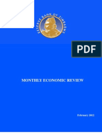 Monthly Economic Review February 2012