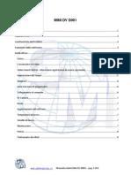 MINI DV Manuale Italiano