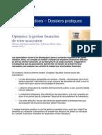 Dossier Optimiser La Gestion Financiere de Votre Association