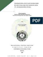 PENENTUAN JALUR EFEKTIF POLA DATA FLOW DIAGRAM (DFD) DENGAN METODE STRUCTURAL EQUATION MODELING (SEM) DI PT. ANUGRAH KURNIA PUSAKA