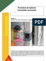 Procedura de Aplicare - Consolidari Structurale