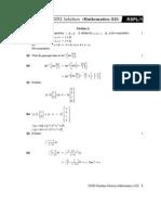 Math XII Set 1
