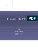 Optical Data Storage Tatebe
