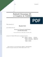 [21] Radiosité Dynamique 2D et Complexe de Visibilité