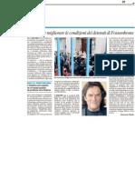 Progetto dell'università per migliorare le condizioni dei detenuti nel carcere di Fossombrone - Il Resto del Carlino del 26 aprile 2012