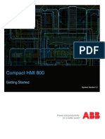 3BSE040587-510 a en Compact HMI 800 5.1 Getting Started