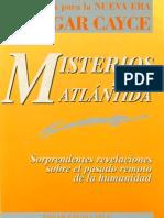 Edgar Cayce - Misterios de La Atlantida