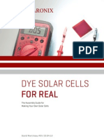 Dye Solar Cells for Real