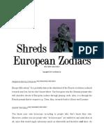 European Zodiacs
