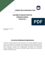 14 DSP P Moral Tingkatan 1 15 Mac DRAF