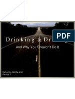 Goldwater Drunk Driving Booklet