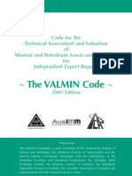 Valmin Code Australia