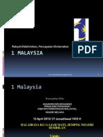 1 Malaysia Jempol 13 April 2012