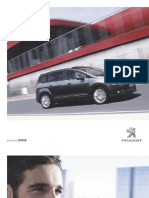 Peugeot 5008 Brochure