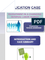 Application Case Chapter 6 Internal Recruitment