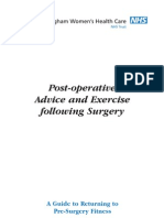 47 Post-oper Exercise Surgery-2