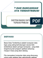 Bab v Database Terdistribusi