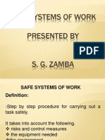 Safe Systems of Work 2