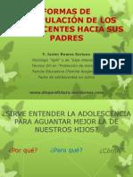 FORMAS DE MANIPULACIÓN DE LOS ADOLESCENTES HACIA SUS PADRES