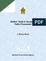 Bidders Guide