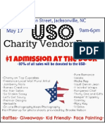 USO Event 17 May 2012