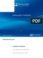 Company Presentation Science Soft