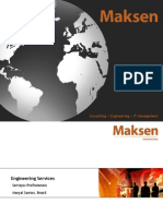 Maksen Engineering Brasil 2012