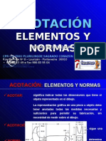 Acotacion Elementos y Normas