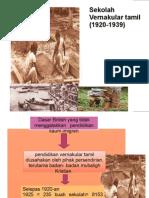 Sekolah Vernakular tamil (1920-1939)