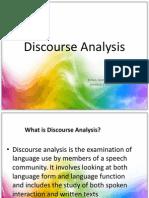 Discourse Analysis Belengarces