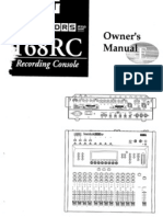 168RC Owners Manual