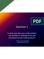Evaluation - Question 1
