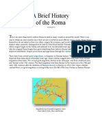 18729021 a Brief History of Roma