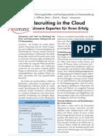 Recruiting in the Cloud