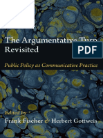 The Argumentative Turn Revisited edited by Frank Fischer and Herbert Gottweis