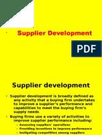 27105275 Supplier Development