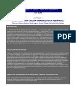 ANESTESIA OFTAL PEDIATRIA