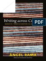 Writing across Cultures by Angel Rama, Edited and Translated by David Frye