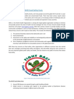 An Overview of the WHO Food Safety Facts PDF
